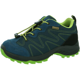 High Colorado Vilan Low High Tex Wanderschuhe Kinder blau-grün